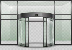 drsna vrata steklena